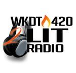 WKDT420 2LIT RADIO