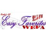 92.5 Easy Favorites – WEFA-LP