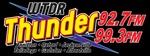Thunder 92.7 – WTDR-FM