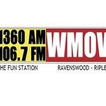 AM1360,FM106-7and 93-5 WMOV – W294AF