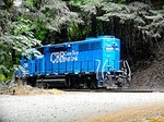 CORP, Coos Bay Rail Link, UP, Portland and Western