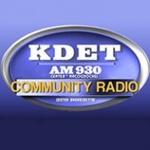 KDET 930 AM – KDET