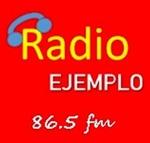 Radio Ejemplo