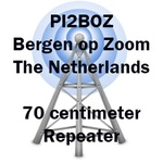 PI2BOZ 430.025 MHz Bergen op Zoom Repeater
