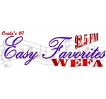 92.5 Easy Favorites – WEFA-LP