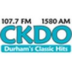 107.7 FM & 1580 AM CKDO – CKDO
